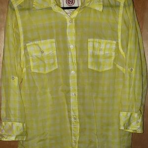 AUTHENTIC AMERICAN HERITAGE Ladies checked top xl